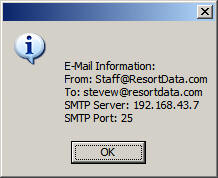 Email / SMTP Server Configuration & Troubleshooting
